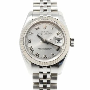Rolex Datejust swiss-automatic womens Watch 179174 (Certified Pre-owned)
