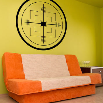 Vinyl Wall Decal Sticker Missile Target #1109