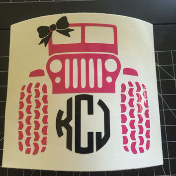Jeep Girl Decal (Permanent)