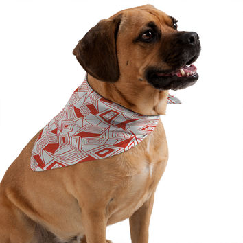 Heather Dutton Fragmented Flame Pet Bandana