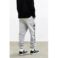 Champion Loose bundle of trousers and trousers for men and women Gray