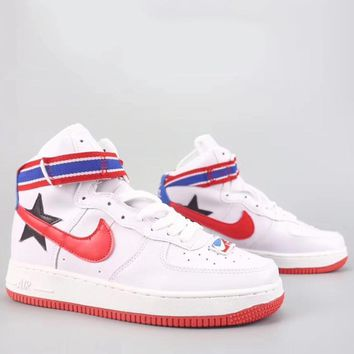 Nike Air Force 1 Hi Rt Fashion Casual High-Top Old Skool Shoes