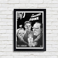Twilight Zone: Eye of the Beholder - Episode Poster, Fan Art, Art Print