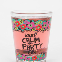 Urban Outfitters - Natural Life Party On Shot Glass