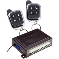 ASTRA AstraA1.1 1-Way Remote-Start & Keyless-Entry System with 2 Chrome 1-Button Remotes