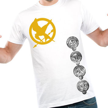 Hunger Games District Badges Shirt by kebullock on Etsy