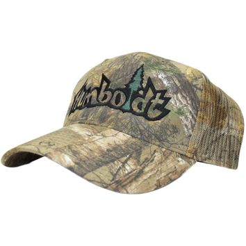 Curved Bill Treelogo Outline Outdoor Velcro Hat