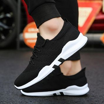 Mens Tennis Shoes Sneakers Breathable Gym Shoes Fitness Sport