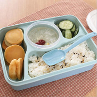4+1 Food Container Storage Box Single Children Box for Lunch