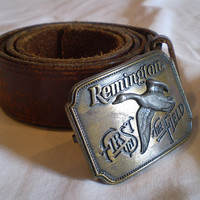 Vintage Remington Belt