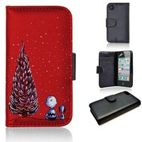 Charlie Brown Christmas | wallet case | iPhone 4/4s 5 5s 5c 6 6+ case | samsung galaxy s3 s4 s5 s6 case |