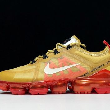 Nike air Vapormax Retro Yellow/Red Running Sport Cushion Shoes Size 40-45
