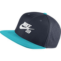 Nike Mens SB Performance Pro Trucker Snapback Hat OBSIDIAN/OMEGA BLUE/BLACK/WHITE