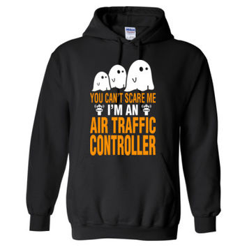 Halloween You Cant Scare Me I Am An Air Traffic Controller - Heavy Blend™ Hooded Sweatshirt