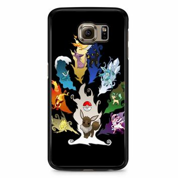 Eeveelution Tree Samsung Galaxy S6 Case