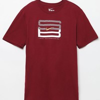 Nike SB Lock Up T-Shirt - Mens Tee - Maroon