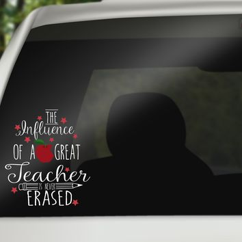 Teacher Quote Car Decals/Laptop Decals