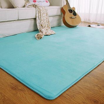 memory foam rugs for living room. Adasmile Fashion Memory Foam Solid Mat Area rug Bedroom Rugs Best For Rooms Products on Wanelo