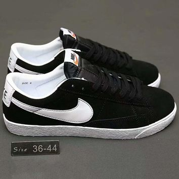 Nike Blazer Premium Retro Women Men Running Roshe Sport Casual Shoes Sneakers Black G-a0-hxydxpf-1