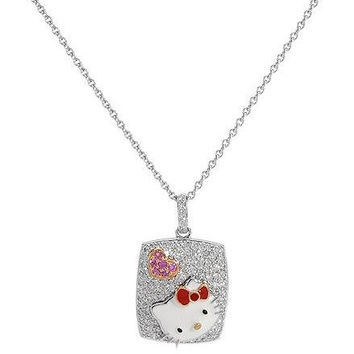 Kimora Lee Simmons Hello Kitty 18k Pendant