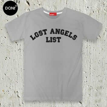 LA, Lost Angles List ,T-Shirt ,Minimal T-shirt ,Swag T-shirt ,Pinterest tees,T-shirt ,Friend Gift ,tumblr shirt ,los angeles
