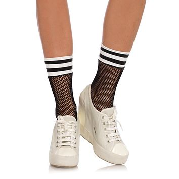Fishnet Athletic Anklets