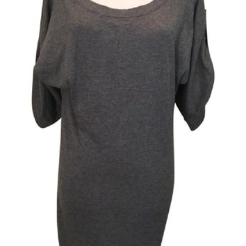 NWT Banana Republic Gray Sweater Dress, Small