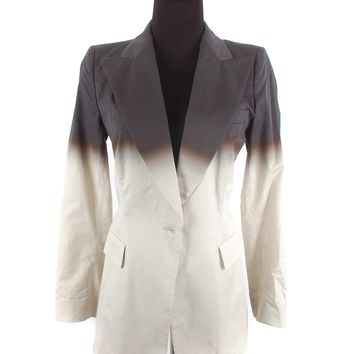 Dries Van Noten Grey Ombre Blazer
