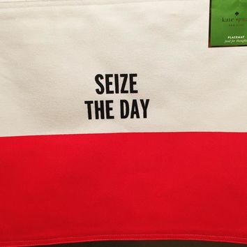 "Kate Spade ""Seize The Day"" Placemat"