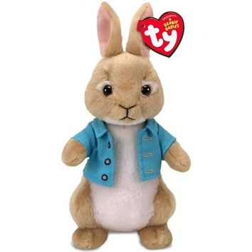 Ty® Beanie Babies Cottontail Rabbit Stuffed Animal, 8""