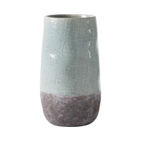Stone and Ice Two-Tone Vase