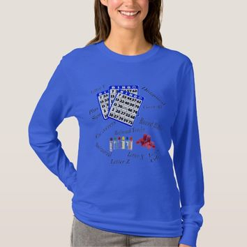 Bingo Player Long Sleeve Tee