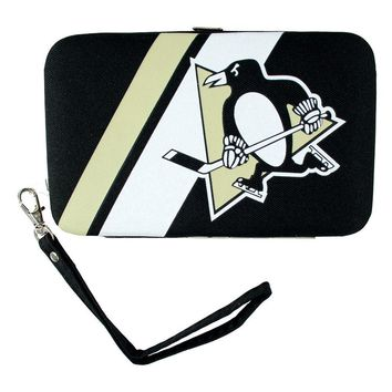 Pittsburgh Penguins NHL Shell Wristlet