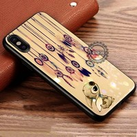 Cute Looking Up Dreamcatcher Stitch iPhone X 8 7 Plus 6s Cases Samsung Galaxy S8 Plus S7 edge NOTE 8 Covers #iphoneX #SamsungS8