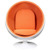 Kaddur Lounge Chair Orange