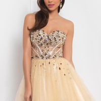 Homecoming dresses by Blush Prom Homecoming Style 9406