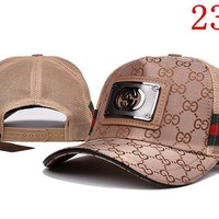 GUCCI Embroidered Hat Baseball Cap Hat 2339