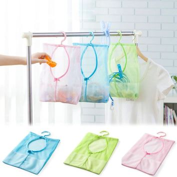 Mesh Bag With Hook For Storage