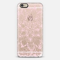 pink heart iPhone 6 case by Julia Grifol Diseñadora Modas-grafica | C... | Keep.com