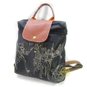 Longchamp Embroidered Bags