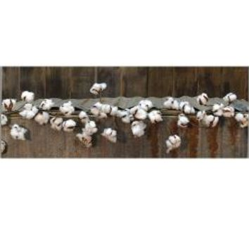 Cotton Ball Garland