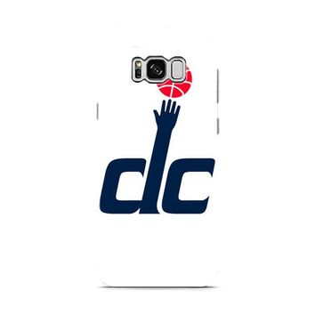 Washington Wizards DC White Samsung Galaxy S8 | Galaxy S8 Plus case