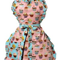 Everything Cupcakes & Polka Dots Apron