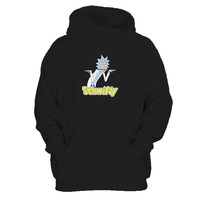 Rick And Morty Get Schwifty Inspired Man's Hoodie