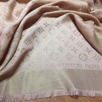 Shawl Wrap Scarf Louis Vuitton Monogram
