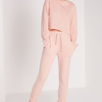 Missguided - Slim Fit Joggers Pink