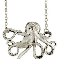 My Pet Octopus Necklace