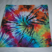 Wisperwood Tie-Dye Bandana (20x20) - Free Shipping within the U.S.