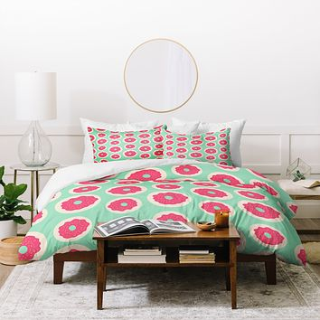 Allyson Johnson Sweet as a donut Duvet Cover