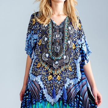 Parides Blue Jay Medium Kaftan
